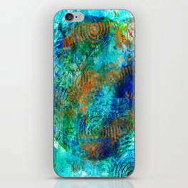 Copper beneath the waves iPhone Skin