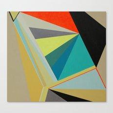 de la serie diamante Canvas Print