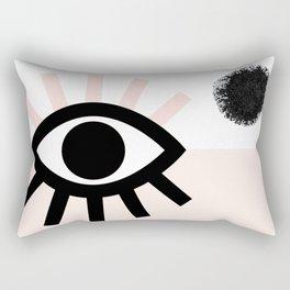 MAUVAIS OEIL #02 Rectangular Pillow