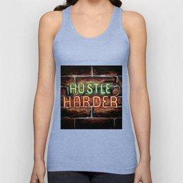 Hustle Harder Unisex Tank Top