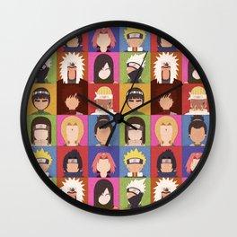 Anime Characters Wall Clock