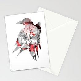 Raven's cloak Mirai Stationery Cards