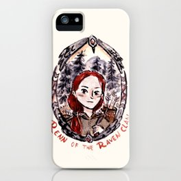 Renn of the Raven Clan iPhone Case