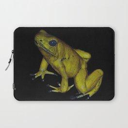 Golden Dart Frog Laptop Sleeve
