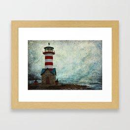 Port of Grafton Framed Art Print