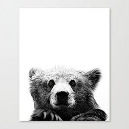 Harriet, the Brown Bear Canvas Print