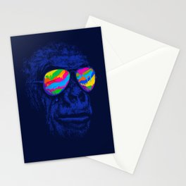 Blue Gorilla Stationery Cards