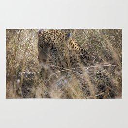 African Leopard Rug