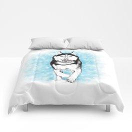 Siberian Husky Comforters
