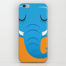 Sleepy Elephant iPhone Skin