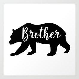 Brother Bear Art Print