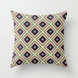 Starry Tiles in BMAP 01 Throw Pillow