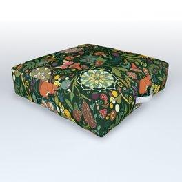 Treasures of the emerald woods Outdoor Floor Cushion