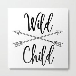 Wild Child Metal Print