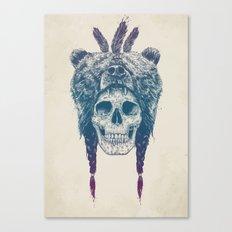 Dead shaman Canvas Print
