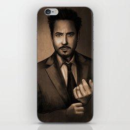 Robert Downey Jr iPhone Skin