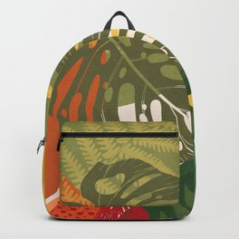 Garden on a Sunny Day 3 Backpack