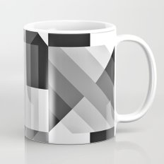 Black and White Gradient Mug