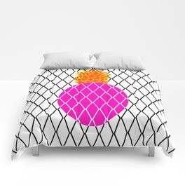 DIAMANTE PINEAPPLE PINK Comforters