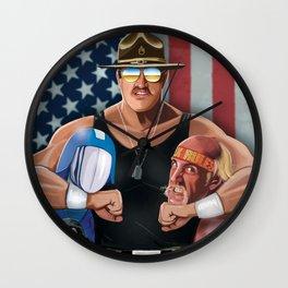 Sarge Rules Wall Clock
