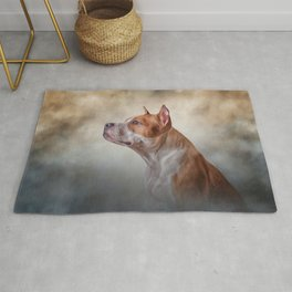 American Staffordshire Terrier Rug