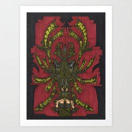 Palabast Queen Art Print