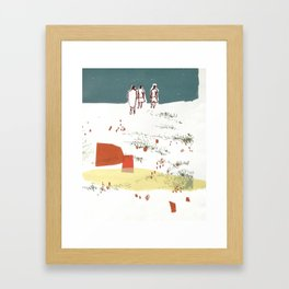 Three's Company Framed Art Print