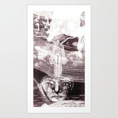 The drift Art Print