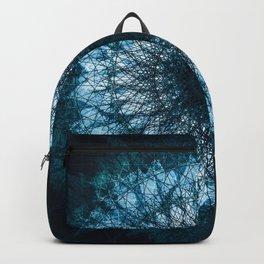 Blue Mandala Backpack
