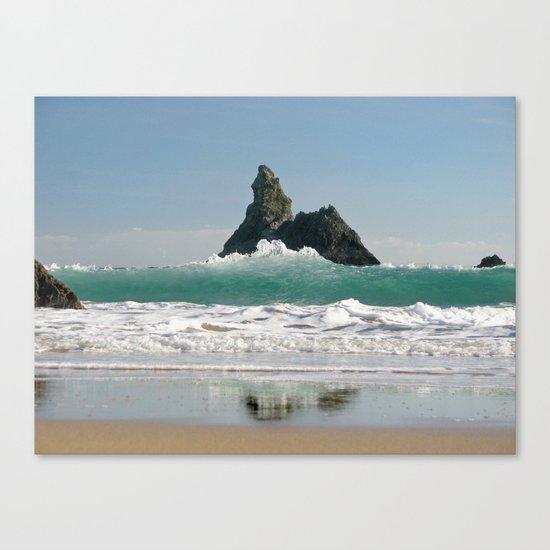 BroadHaven South Beach.Pembrokeshire.Wales. Canvas Print