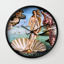 The Birth Of Venus - Digital Remastered Edition Wall Clock