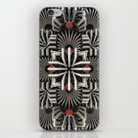 cyberpunk iPhone & iPod Skins featuring Calaabachti Matrix by Obvious Warrior