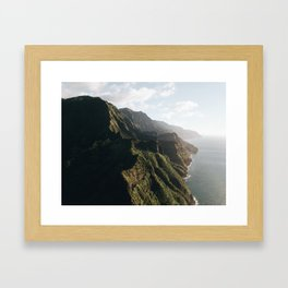 Corners of the Earth Framed Art Print