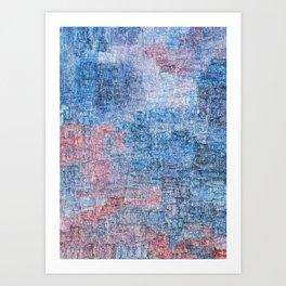 Spacetime Ripples Art Print