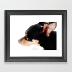 Hey Buddy Framed Art Print