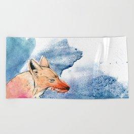 The Coyote Beach Towel