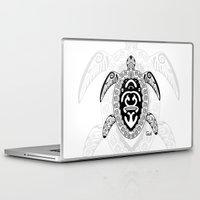 tortoise Laptop & iPad Skins featuring Tortoise by ceceï