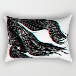 Betta splendens Rectangular Pillow
