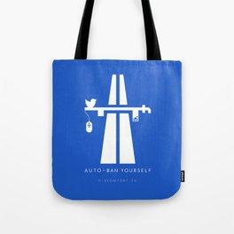 AutoBan Yourself Tote Bag