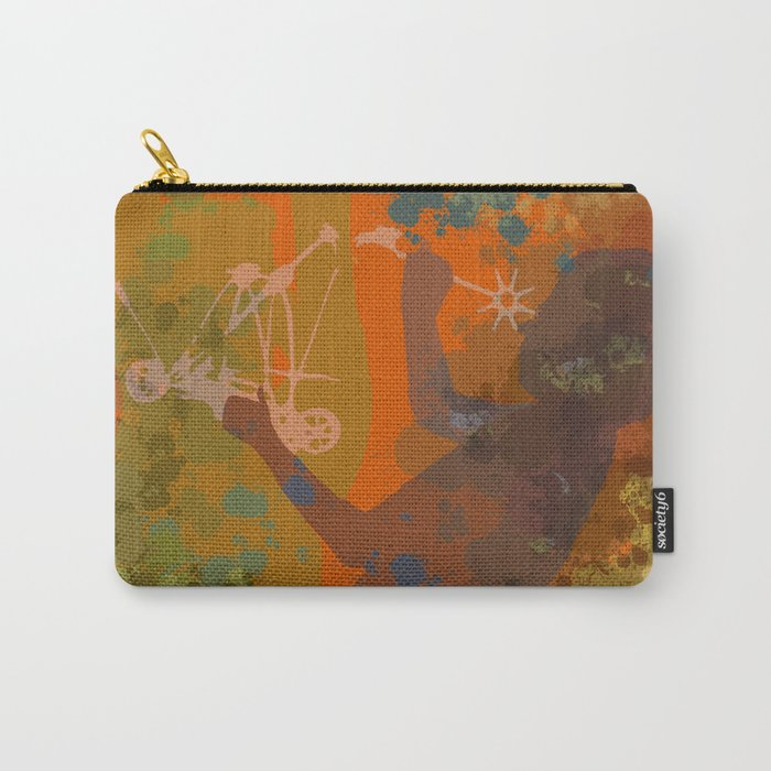 Voyager (Orange) Carry-All Pouch