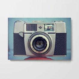 Old Agfa Camera Metal Print