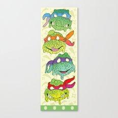 Teenage (a Little Too Mutated) Ninja Turtles Canvas Print