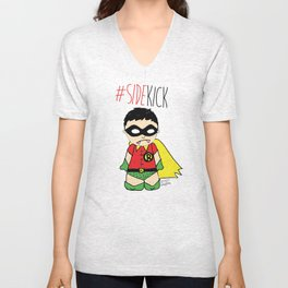 SIDEKICK Unisex V-Neck