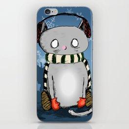 Snow Kitty iPhone Skin