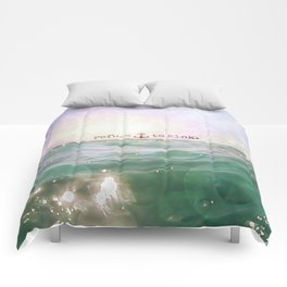 Refuse To Sink Comforters