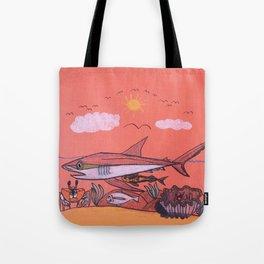 Galopagos Shark & Friends Tote Bag