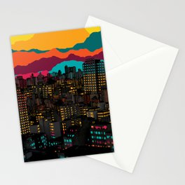 Fragmented III VI Stationery Cards