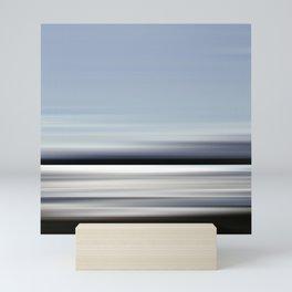 eau argenté - seascape no.02 Mini Art Print