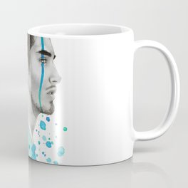 Man Bun Tears Coffee Mug