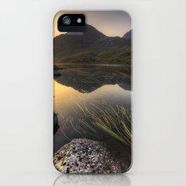Tryfan Mountians iPhone Case